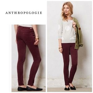 Anthropologie Pilcro serif cords - red pants